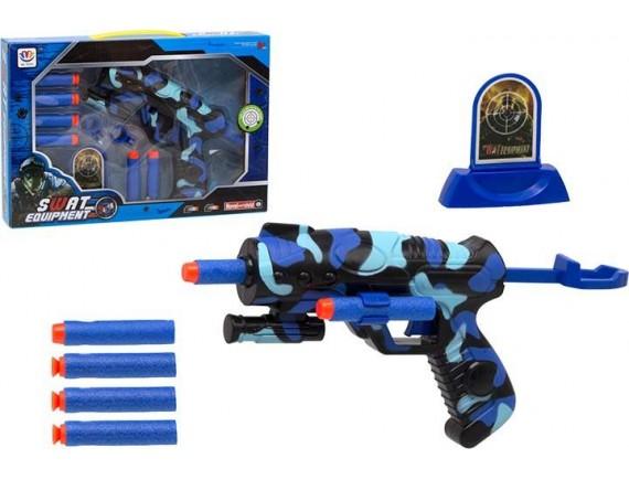Набор оружия SWAT с мягкими пулями и мишенью 200209741
