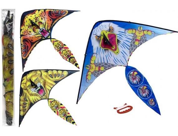 Воздушный змей с принтами животных в ассортименте 200214275