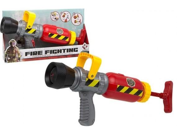 Водная пушка Fire Fighting пожарный 35см в коробке 200215943