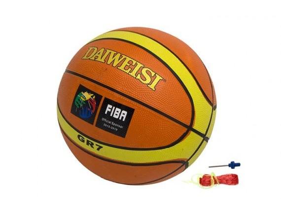 Мяч баскетбольный №7 вес 530 гр 200219534