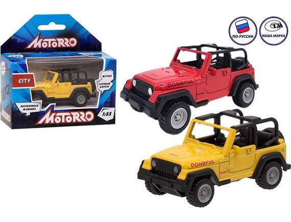 "Машинка металл Motorro ""Джип"" 200230531"