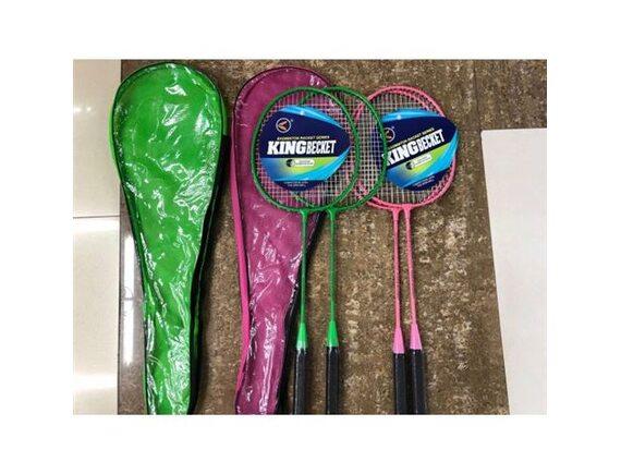 Набор для игры в бадминтон металлические ракетки 64см в чехле 200243547 - приобрести в ИГРАЙ-ОПТ - магазин игрушек по оптовым ценам