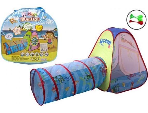 Детская палатка Ocean с тоннелем 200258358