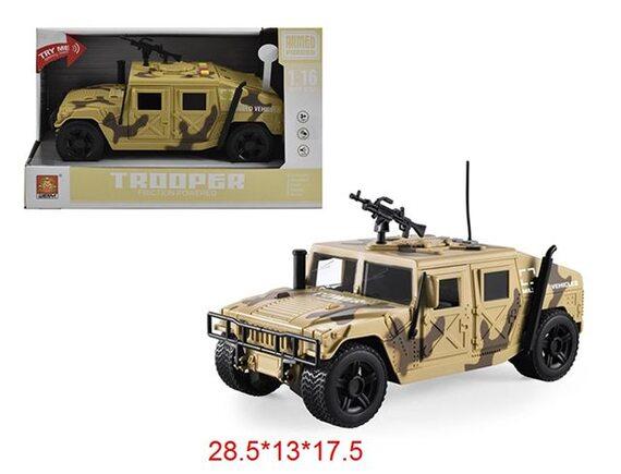 "Машинка инерционная ""Армия"" на батарейках 200263340"
