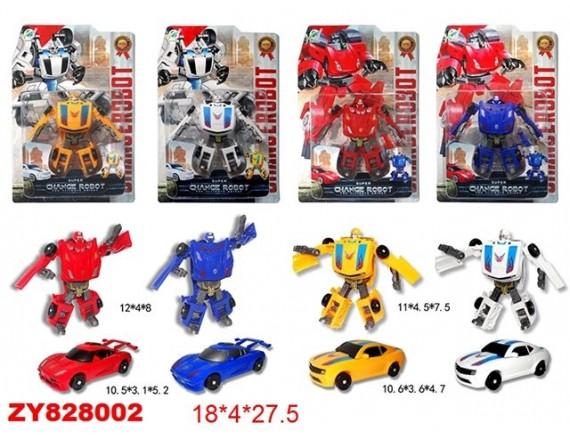 Трансформер робот - машинка в ассортименте 200276098