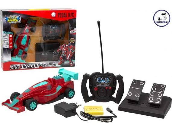 Машинка трансформер Fire Dragon на радиоуправлении 200285500