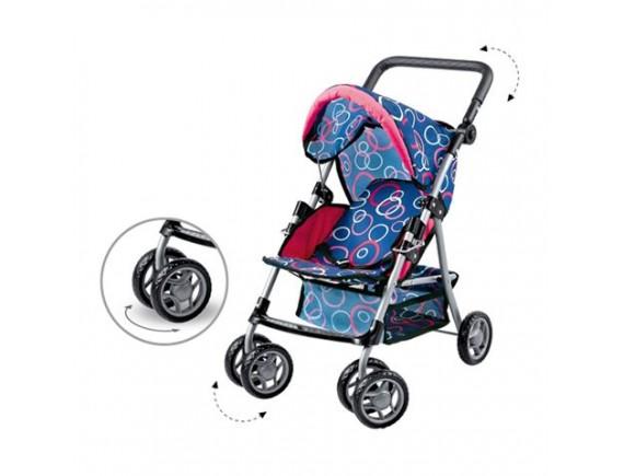 Поворачивающая коляска для кукол с козырьком 200290411