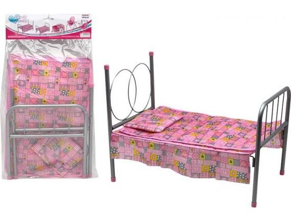Кровать с подушкой для куклы в пакете 200290489