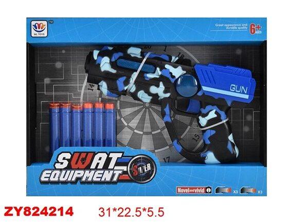 Пистолет SWAT Super с мягкими пулями 200304273