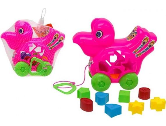 Игрушка каталка для мылышей в сетке 200311688