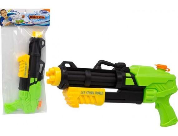 Помповый водный пистолет - пулемет 36см в пакете 200329225