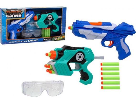 Набор бластеров Target Game с мягкими пулями и мишенями 200345242