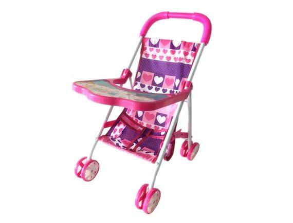 Кукольная коляска со столиком в пакете 200347075