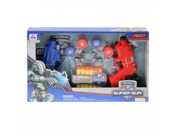 Набор оружия 2 пистолета с мягкими пулями 200369920 - приобрести в ИГРАЙ-ОПТ - магазин игрушек по оптовым ценам