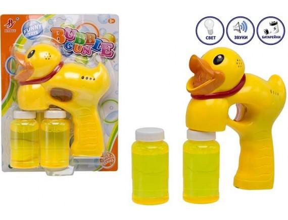 Игрушка на батарейках утенок мыльные пузыри 200370644