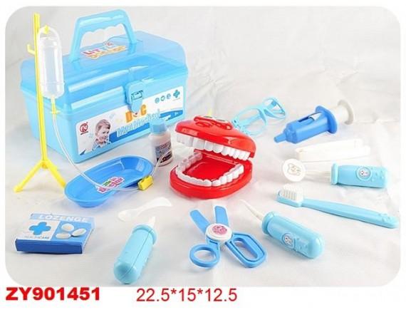 Игровой набор чемодан стоматолога 200407397
