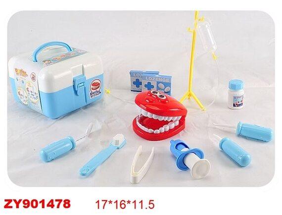 Игровой набор чемодан для стоматолога 200407626