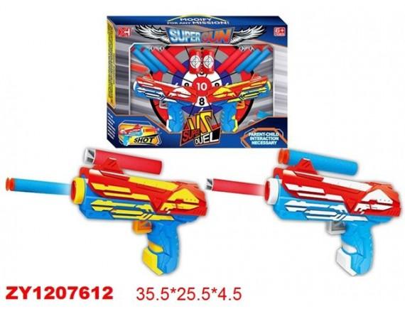 Игровой набор бластеров Super Gun с мягкими пулями 200407702