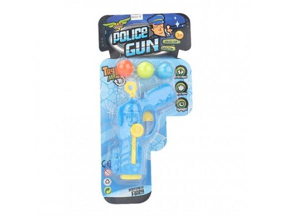 Игрушечный пистолет Police Gun с шариками 200418849 - приобрести в ИГРАЙ-ОПТ - магазин игрушек по оптовым ценам