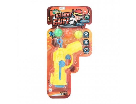 Игрушечный пистолет Bandit Gun с шариками 200418850 - приобрести в ИГРАЙ-ОПТ - магазин игрушек по оптовым ценам