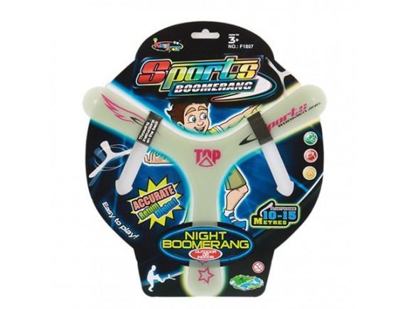 Игрушка Летающая тарелка светится 30 см 200429831