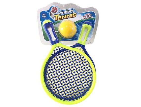 Ракетки для тенниса 40 см с мячом 200439029 - приобрести в ИГРАЙ-ОПТ - магазин игрушек по оптовым ценам
