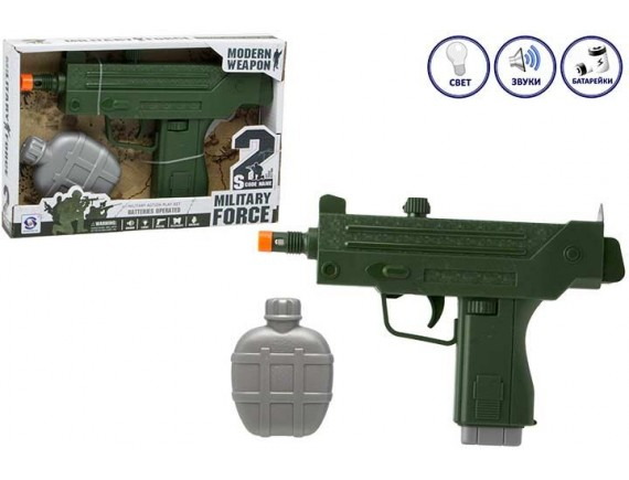 """Игровой набор с оружием """"Военный"""" 200443974"""