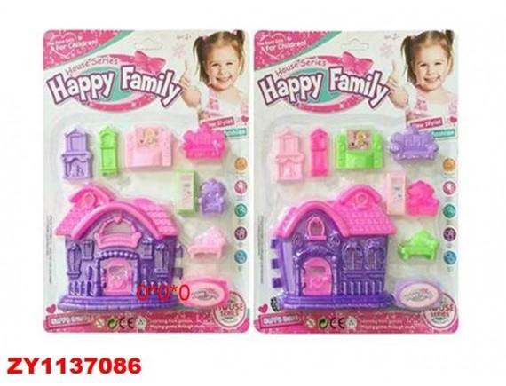"""Игровой набор """"Счастливая семейка"""" 200445139"""