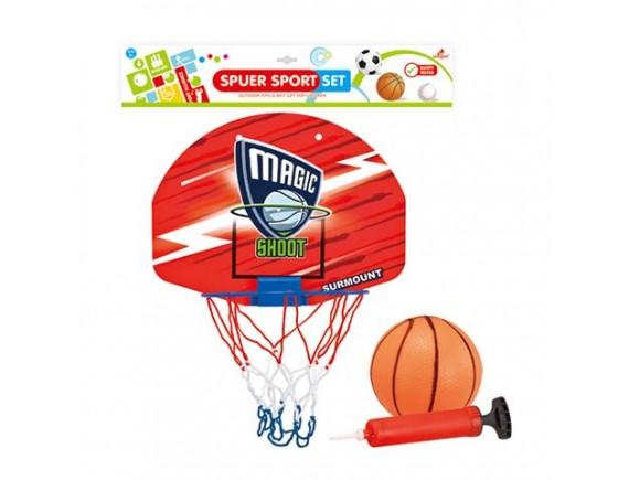 Набор для игры в баскетобол со щитом и корзиной 200449824