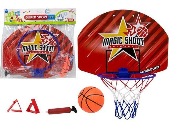 Комплект для баскетбола со щитом 40см 200449828