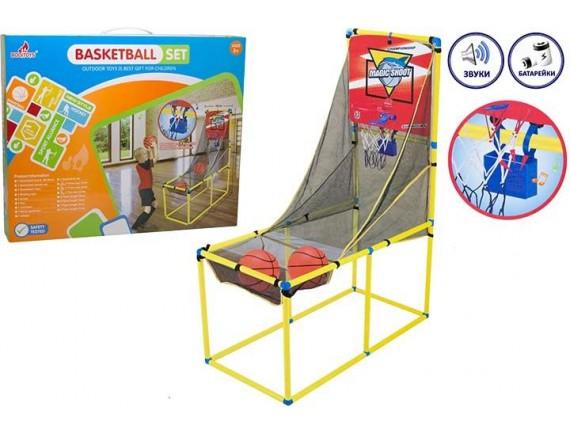 Баскетбольный набор со стойкой - корзиной и двумя мечами 200449941