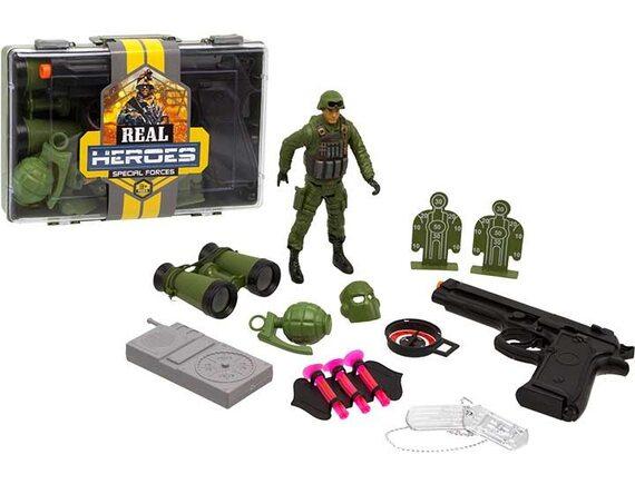 Военный игровой набор Real Heroes в коробке 200457490