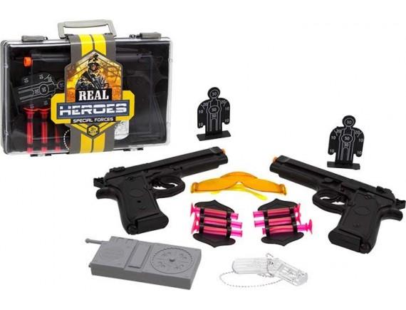 Военный набор Real Heroes в коробке 200457524 - приобрести в ИГРАЙ-ОПТ - магазин игрушек по оптовым ценам