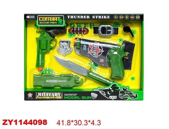 Игровой набор с оружием Военный 200466276