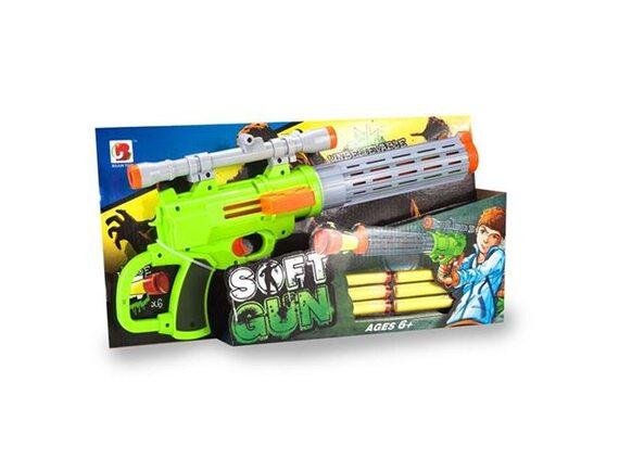 Игрушечный пистолет Unbelievable с мягкими пулями 200470342