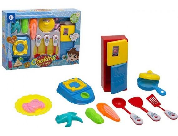 Наборы с игрушечной едой и посудой в коробке 200481214
