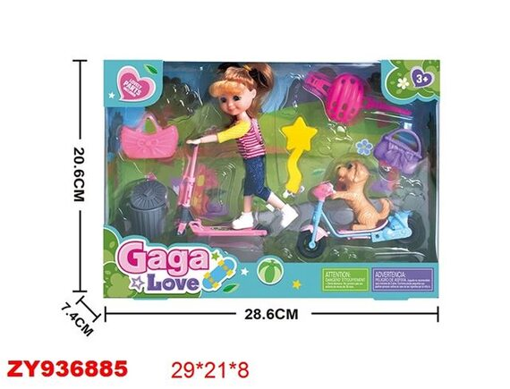 Игрушка кукла шарнирная 200491015