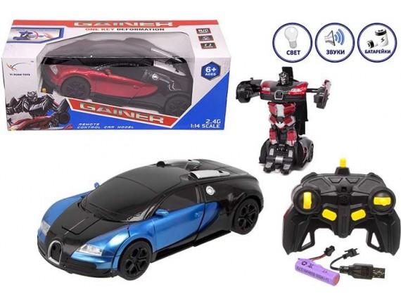 Игрушка радиоуправляемая машина-трансформер 200491908