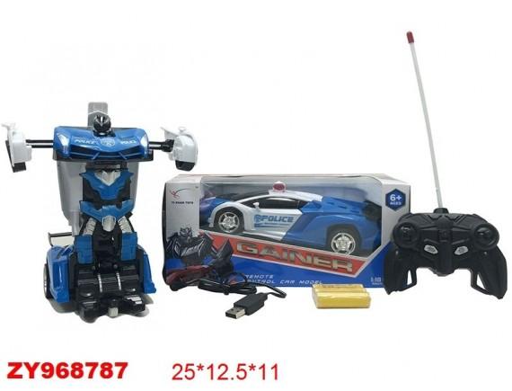 Игрушка радиоуправляемая машина-трансформер 200497051