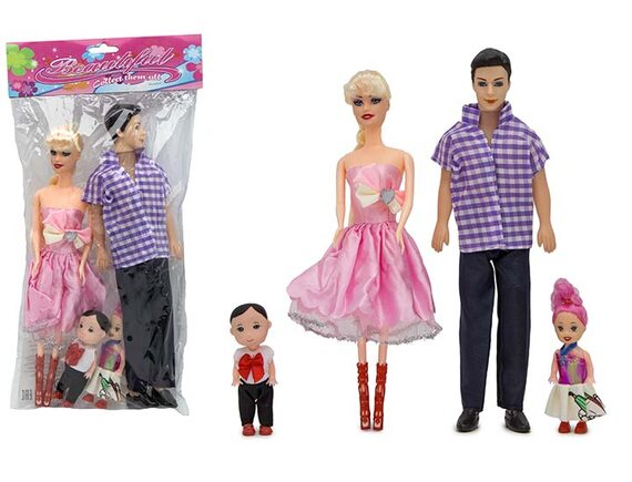 "Набор кукол ""Счастливая семейка"" 200515800"