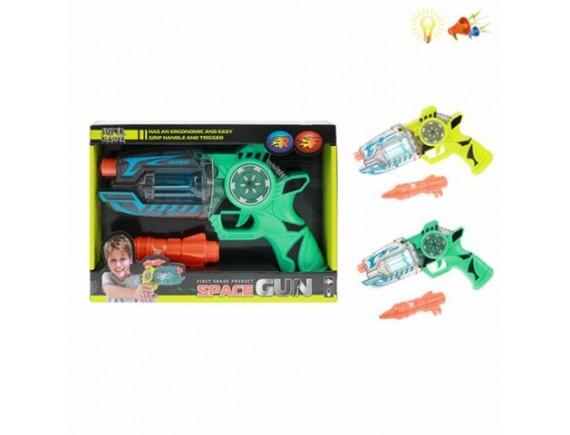 Бластер Space Gun со светом и звуком 200537573