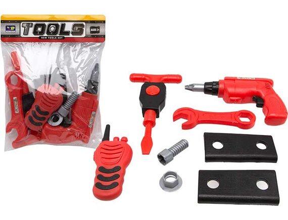 Игровые инструменты Tools Set с шуруповертом и рацией 200559239