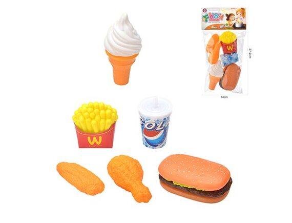 Игровой набор Гамбургер в пакете 200560436 - приобрести в ИГРАЙ-ОПТ - магазин игрушек по оптовым ценам