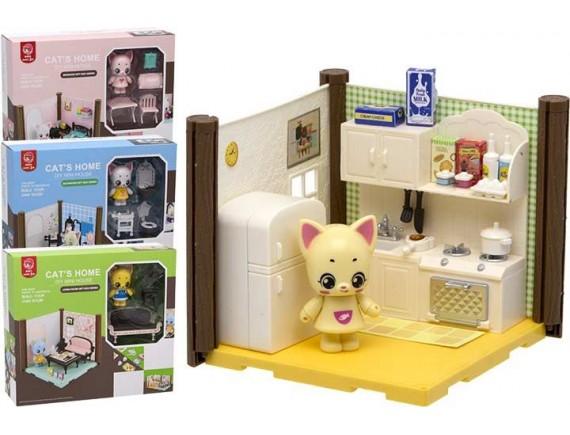 """Игровой набор """"Домик для куклы"""" 200563061 - приобрести в ИГРАЙ-ОПТ - магазин игрушек по оптовым ценам"""