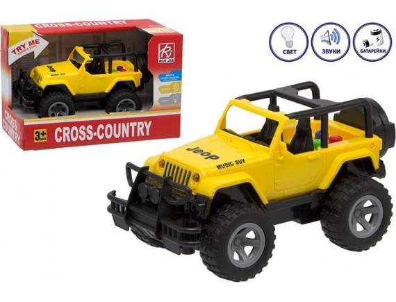 Игрушечный Джип Cross Country на батарейках 200582239