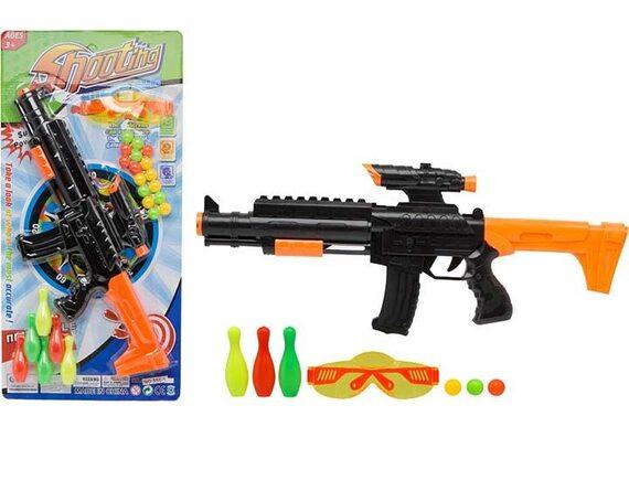 Игровой автомат с очками, шариками, кеглями и мишенью 200597658 - приобрести в ИГРАЙ-ОПТ - магазин игрушек по оптовым ценам