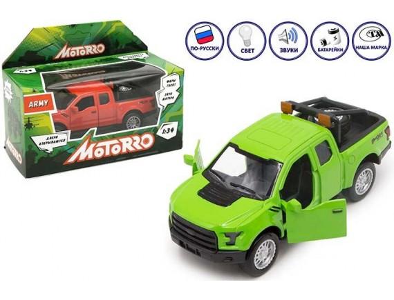 "Машинка металл Motorro ""Джип"" Army 200609953"
