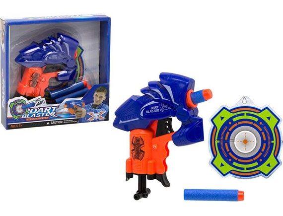 Игрушка Пистолет с мягкими пулями 13см 200619530
