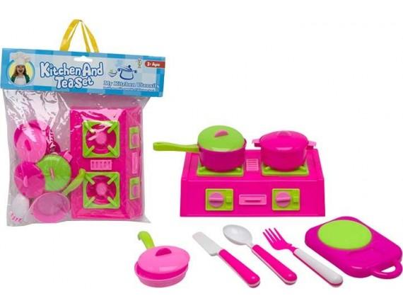 Игровой набор с посудой My Kitchen Моя кухня 200627758