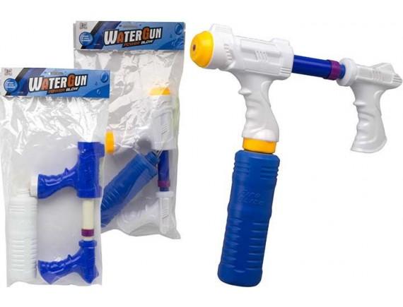 Двуручный водный пистолет 30см с баллоном 200629292